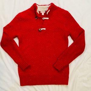 Cat & Jack Boys Red Sweater